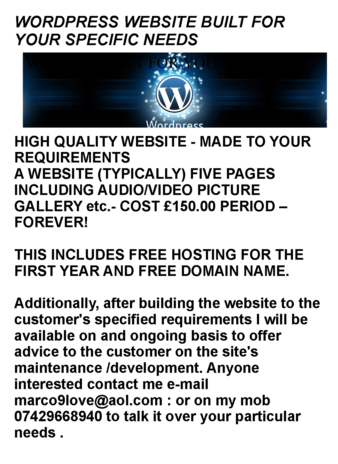 how to buy a web domain forever