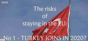 Real danger from Turkey entering the EU