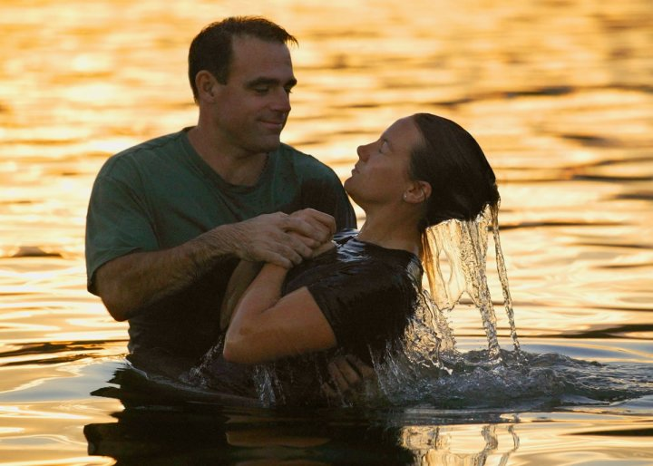 rise with Christ from baptism