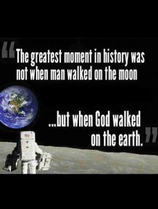 God walked this planet 2000 years ago