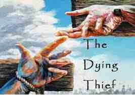 The thief on the cross with Jesus was maybe the first new covenant convert